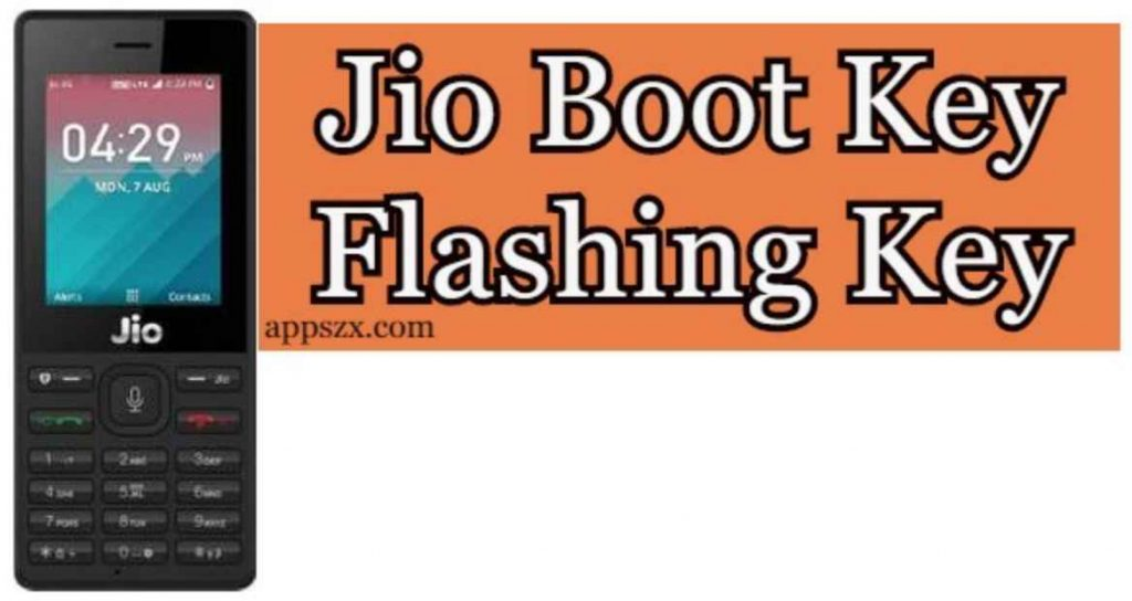 Jio Boot Key
