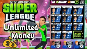 Stick Cricket Super League Mod Apk (2)